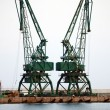 Harbour crane — Stock Photo