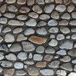 Wall of stone and concrete — Stock Photo