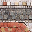 Stone mosaic pattern — Stock Photo