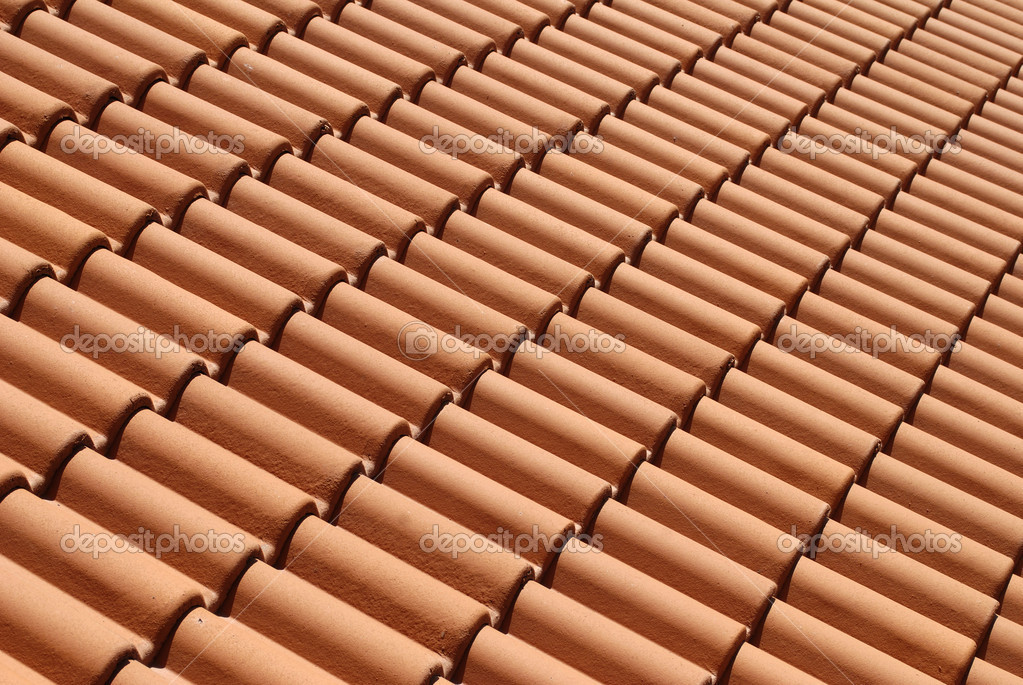 Mediterranean house roof style stock photo stellanova for Mediterranean roof styles