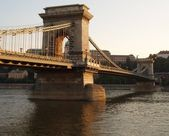 The bridge in Budapest,Hungary — Stock Photo