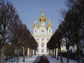 Palace in Peterhof — Stock Photo