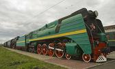 The old locomotive — Stock Photo