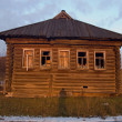 Stock Photo: Old house in provincial Russia