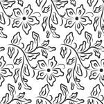 Floral wallpaper — Stock Vector