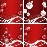 Christmas template frame — Stock Vector #1808231