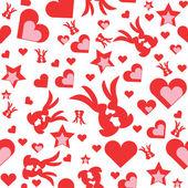 Valentýna tapety — Stock vektor