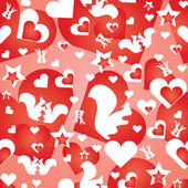 Valentine's wallpaper — Stock Vector
