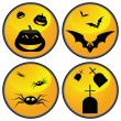 Halloween set — Stock Vector #1847660