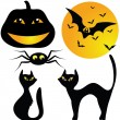 Royalty-Free Stock Vector Image: Halloween set