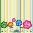 Royalty-Free Stock Vector Image: Background with flower