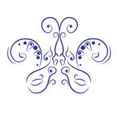 Abstract butterfly — Stockvector