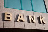 Bank — Stock Photo