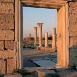 Ruins of ancient basilica — Stock Photo #1987859