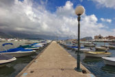 Beautiful Pier in Budva, Montenegro — Stock Photo
