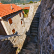 Stock Photo: Path around Old town in Budva