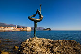 Statue of ballerina — Stock Photo