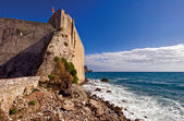 One of the views on Adriatic sea — Foto Stock