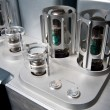 Stock Photo: Tube amplifier