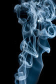 Isolated abstract smoke. — Stock Photo