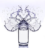 Glas of water — Stock Photo