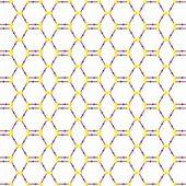 Molecular lattice — Stock Photo