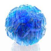 Blue ball — Stock Photo