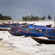 Boats on River — Stock Photo