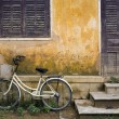 Bicycle and House Vietnam — Stock Photo #1709882