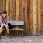 Nevada Cowgirl — Stock Photo #1712317