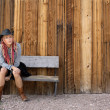 Nevada Cowgirl — Stock Photo