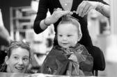 First Haircut — Stock Photo