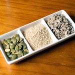 Edible Seeds — Stock Photo