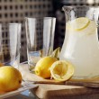 Homemade Lemonade - Stock Photo