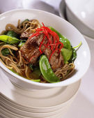 Chinese Beef — Stock Photo