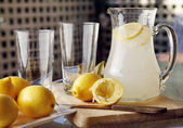Homemade Lemonade — Stock Photo