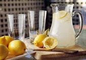 Homemade Lemonade — Stock Photo