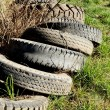 Stock Photo: Car Tyres