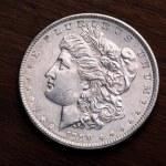 Morgan Silver Dollar — Stock Photo #1784185