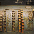 Old Cash Register — 图库照片