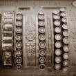 Stock Photo: Old Cash Register