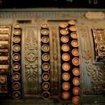 vecchio registratore di cassa — Foto Stock