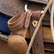 Royalty-Free Stock Photo: Western Saddle