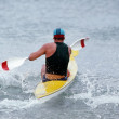 Stock Photo: Surf Ski