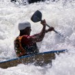 Slalom Kayaking — Stock Photo
