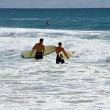 Two Surfers — Stock Photo #1785873
