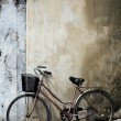 Bicycle and House Vietnam — Stock Photo #1786528
