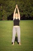 Stretching — Stock Photo