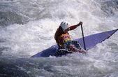 Slalom Kayaking — Stock Photo