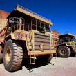 Stock Photo: Dump Trucks